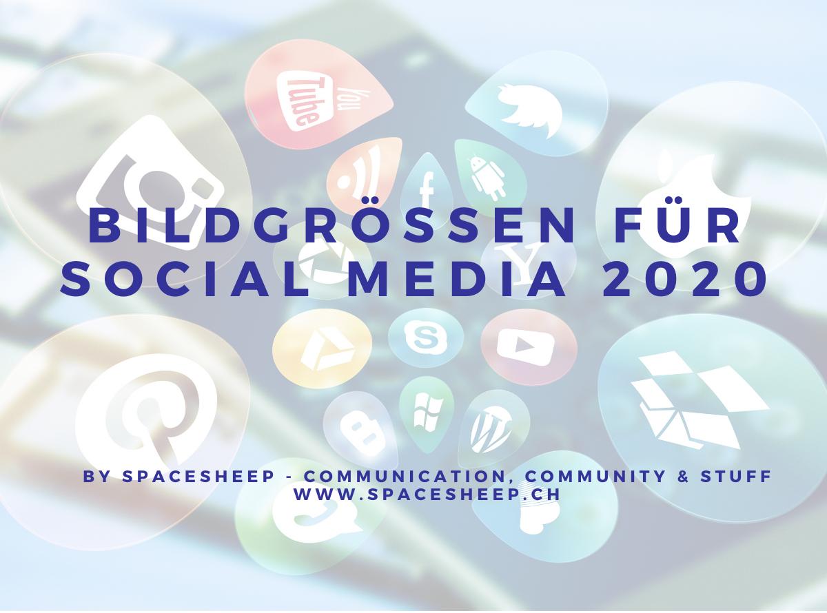 Bildgrösse Social Media 2020